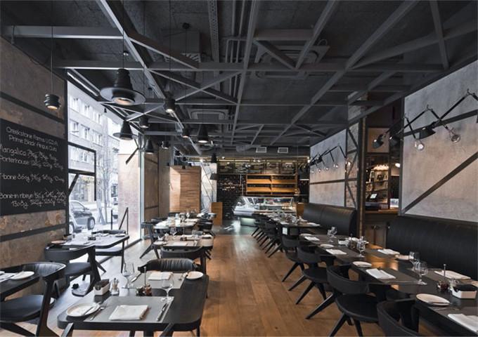 混搭工業風餐廳設計 室內設計 紐約設計集團室內設計專業培訓機構